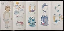 Suzette Paper Doll by Ellery Thorpe, 1983, Uncut, Fashioned from 1886