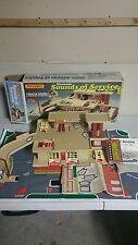 1981 Lesney MatchBox Sounds Of Service Station Garage with box vintage playset