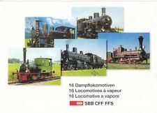 AK, (16), Dampflokomotiven der Schweizer Bundesbahn (SBB CFF FFS), um 2010