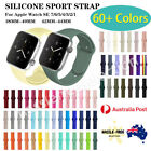 For Apple Watch Iwatch Sports Band Strap Series 7 6 5 4 3 2 1 SE 38/40/42/44mm <br/> All Sizes✅ Brisbane Stock✅Premium Quality✅64 Colors