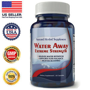 Diuretic Water Away Pills 700mg Weight Loss Natural Blend of Minerals Supplement