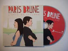PARIS BRUNE : L'OEIL DU CYCLONE ♦ CD SINGLE PORT GRATUIT ♦