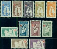 TURKEY #RA170-80 COMPLETE SET OF 11, OG, NH, VF, SCOTT $1,257.00