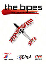 Lh741/LIFT here decals-Four Yugoslav Civil BIPLANES-po-2 - bü-131d - 1/72