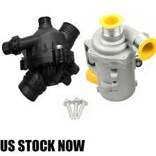 USA Electric Water Pump & Thermostat For BMW 128i 328i 330i 528i 525i X3 Z4 530i
