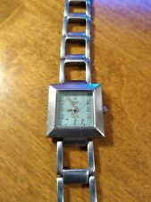 Vintage Roxy Quiksilver Ladies watch, running with new battery NR F