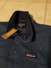 New Patagonia Women Better Sweater Marsupial Woolly Fleece Jacket Pullover Large