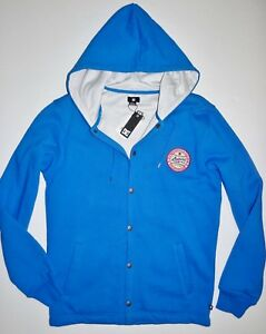 DC Shoes Mens Wildkat University Snap Up Insulated Street Casual Jacket Med