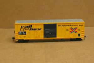 ROUNDHOUSE HO 2 Rail Box Combo Door Box Cars, 1 CNA #553102, 1 ABOX 51198