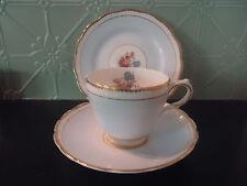 vintage grosvenor china tea trio cup & saucer plate england jackson & gosling