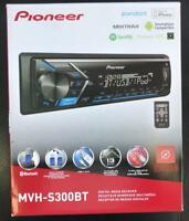 PIONEER MVH-S300BT Digital Media Receiver AUX USB EQ Bluetooth iPhone Android
