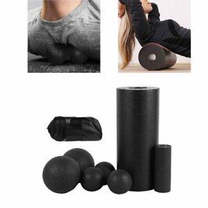 5 pcs Yoga Foam Roller Back Massager For Fitness Relives Muscle Soreness