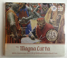 2015 £2 Two Pound coin Magna Carta ROYAL MINT BU (Sealed) Coin Hunt