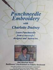 Punchneedle Embroidery With Charlotte Dudney DVD & Project Included-Region 1