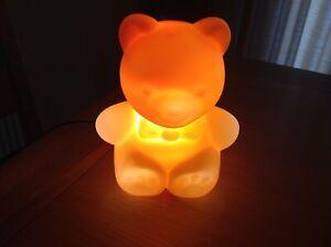 Teddy Bear Night Sleeping Light Desk Table Lamp Bedroom Room