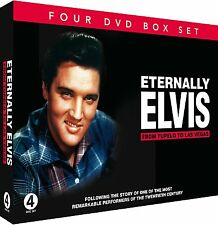 ETERNALLY ELVIS FROM TUPELO TO LAS VEGAS NEW 4 DVDSET ELVIS PRESLEY LIFE STORY
