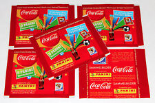 Panini WC WM 2010 South Africa – 5 x Tüte packet COCA COLA KLOSE GERMANY RARE!