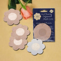 10X Petal Shape Invisible  Nipple Cover Sticker Bra Pad Patch Disposable FLCA