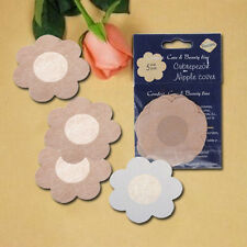 10pcs Flower Petal Adhesive Breast Nipple Cover Sticker Bra Pad Patch Best GN