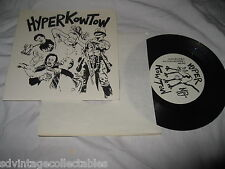 """Hyperkowtow Militant City Give it Up Ban This PUNK Private Press  7"""" Record 45"""