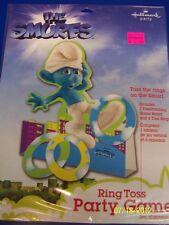 RARE Smurfs Movie Animated Cartoon Kids Birthday Party Favor Ring Toss Game