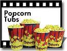 Popcorn Popper Machine Tubs (1cs of 100) #41432