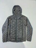 Patagonia Micro Puff Hoody Insulated Jacket Women's Size XS - Feather Grey