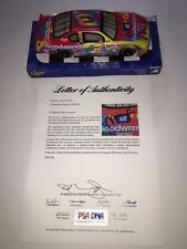 PETER MAX CHEVY WINNER CIRCLE 1:24 DIECAST DALE EARNHARDT SR RARE SIGNED PSA COA