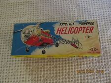 Japanese Tin Highway Patrol Helicopter in Box Vintage