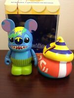 """Stitch Smiling Yellow Green Frosting 3"""" Vinylmation Mystery Bakery Series"""