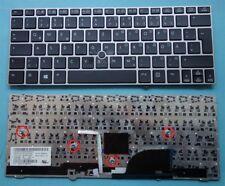 Tastatur für HP Compaq EliteBook 2170 2170P SN8111 silber Keyboard deutsch