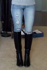 LC Lauren Conrad black riding winter boots Orig. $89.99 NWB 6 shoes womans lad