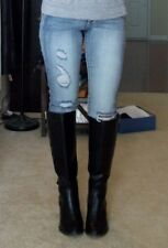 LC Lauren Conrad black riding winter boots Orig. $89.99 NWB 10 shoes womans B85