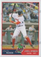 2017 Lowell Spinners Charlie Madden RC Rookie Boston Red Sox