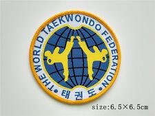 World Taekwondo Federation Sew On Patch Clothes Sports