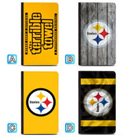 Pittsburgh Steelers Terrible Towel Passport Holder Travel PU Leather Cover Case