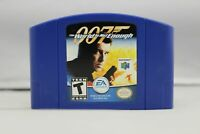 007 The World is Not Enough - Nintendo N64 Game Authentic