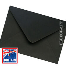 Pier Paper Co. 50 pack x C5 Black Envelopes - 162 x 229mm - Wedding Invitations