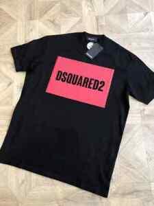 """Brand new DSQ /DSQUARED2 T-shirt in Black  Reg Fit  Medium / p2p 21"""""""