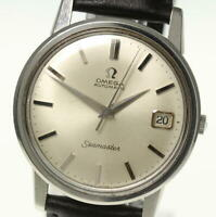 OMEGA Seamaster Date cal,562 Automatic Leather Belt Men's_491045