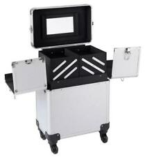 Large Beauty Case Trolley Cosmetic Makeup Vanity Nail Storage Box Travel Mobile
