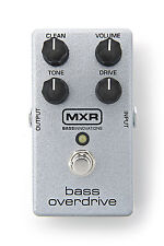 MXR M89 Bass Overdrive Bass Guitar Effects Pedal!