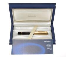 Pelikan R850 rare Souveren black & Vermeil roller new pristine in box