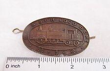 Reproduction English railway badge, London Brighton and South Coast Railway