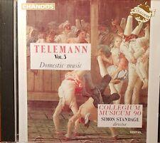 Telemann. Domestic Music. Vol. 3. CD