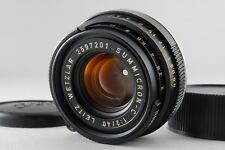 N.MINT++ Leitz Wetzlar Summicron-C 40mm f/2 Lens Leica M CL CLE from Japan #o35