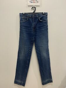 LEVIS Vintage 80's high waisted acid wash blue denim jeans size 84L / 31W 42 L