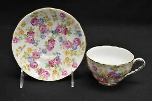 Royal Stafford Cup & Saucer June Roses