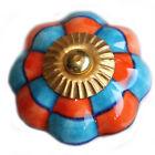 Manija de Muebles muebles,Pomos para keramik-möbelknäufe Azul-Naranja 11 / N/ ZW