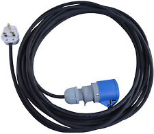 20 Metre 13 AMP to 16 AMP HO7RN-F Cable Extension Lead For Bouncy Castle Blowers